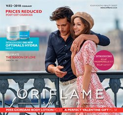 Offers from Oriflame in the Delhi leaflet