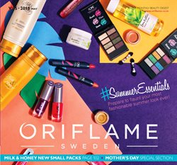 Offers from Oriflame in the Chennai leaflet