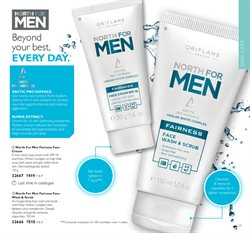 Face wash offers in the Oriflame catalogue in Delhi
