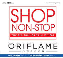 Offers from Oriflame in the Bangalore leaflet