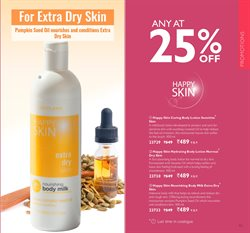 Body milk offers in the Oriflame catalogue in Delhi