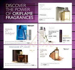 Deodorant offers in the Oriflame catalogue in Delhi