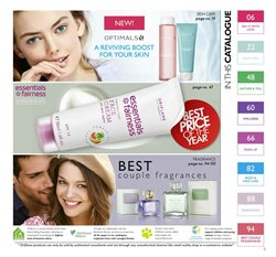 Skin care offers in the Oriflame catalogue in Delhi