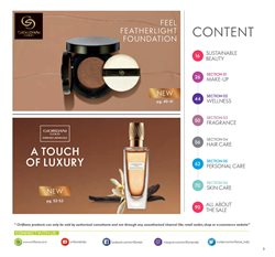 Perfume & Beauty offers in the Oriflame catalogue ( 12 days left )