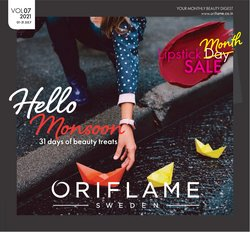 Perfume & Beauty offers in the Oriflame catalogue ( 5 days left)