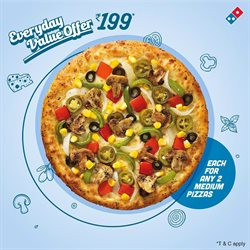 TDI Mall offers in the Domino's Pizza catalogue in Agra