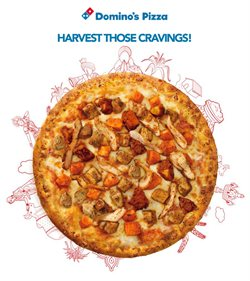 Restaurants offers in the Domino's Pizza catalogue in Bhubaneswar