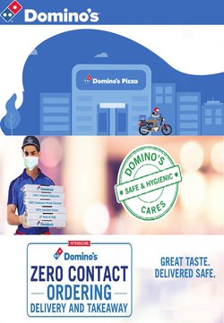 Restaurants offers in the Domino's Pizza catalogue ( 3 days left )