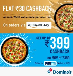 Domino's Pizza offers in the Domino's Pizza catalogue ( Expired)