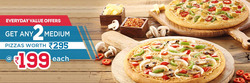 Offers from Domino's Pizza in the Mumbai leaflet