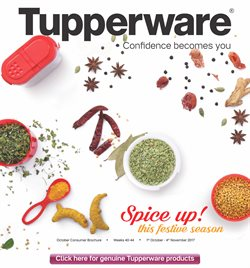 Offers from Tupperware in the Bangalore leaflet