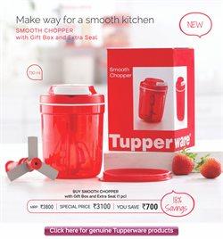 Bookshelf offers in the Tupperware catalogue in Delhi