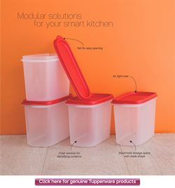 Furniture offers in the Tupperware catalogue in Delhi