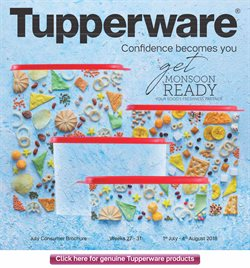 Home & Kitchen offers in the Tupperware catalogue in Bhilai