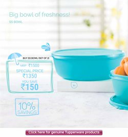 Bowl offers in the Tupperware catalogue in Delhi