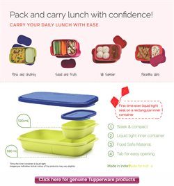 Cushions offers in the Tupperware catalogue in Nashik