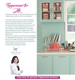 Furniture offers in the Tupperware catalogue in Agra