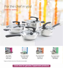 Pans offers in the Tupperware catalogue in Delhi