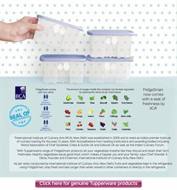Container offers in the Tupperware catalogue in Delhi