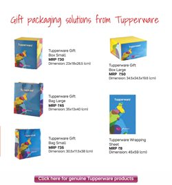 Decoration offers in the Tupperware catalogue in Delhi