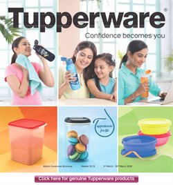 Offers from Tupperware in the Chennai leaflet