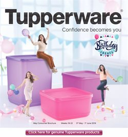 Offers from Tupperware in the Varanasi leaflet