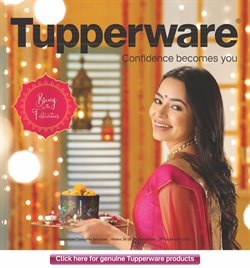 Offers from Tupperware in the Kalyan and Dombivali leaflet
