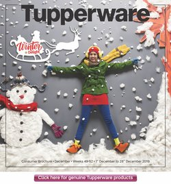 Home & Kitchen offers in the Tupperware catalogue in Ahmedabad