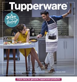 Home & Kitchen offers in the Tupperware catalogue in Bangalore ( 3 days left )