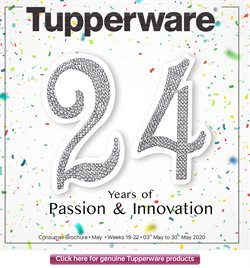 Tupperware catalogue ( 5 days left )