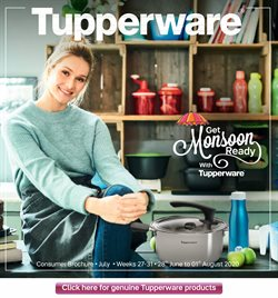 Home & Kitchen offers in the Tupperware catalogue in Hyderabad ( 1 day ago )