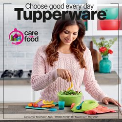 Tupperware catalogue ( 15 days left )