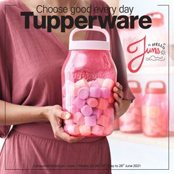 Home & Kitchen offers in the Tupperware catalogue ( 15 days left)