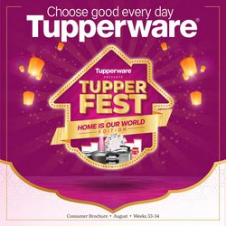 Home & Kitchen offers in the Tupperware catalogue ( 26 days left)