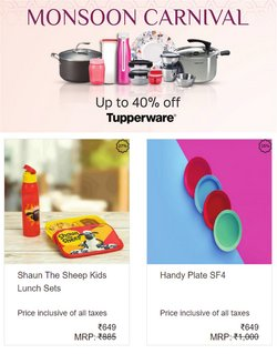 Home & Kitchen offers in the Tupperware catalogue ( 2 days left)