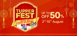 Tupperware coupon in Ahmedabad ( 8 days left )