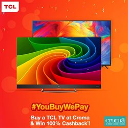 TV offers in the Croma catalogue in Delhi