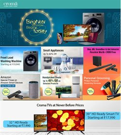 Mobiles & Electronics offers in the Croma catalogue in Delhi