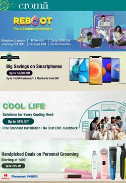Croma offers in the Croma catalogue ( 5 days left)
