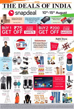 Accessories offers in the Snapdeal catalogue in Delhi
