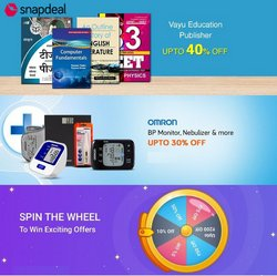 Snapdeal catalogue ( 17 days left )