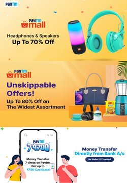 Mobiles & Electronics offers in the PayTm catalogue ( 10 days left)