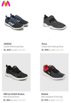 Adidas offers in the Myntra catalogue ( 9 days left)