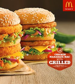 Restaurants offers in the McDonald's catalogue in Agra