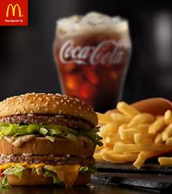 Offers from McDonald's in the Delhi leaflet