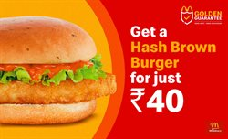 Restaurants offers in the McDonald's catalogue in Delhi ( 1 day ago )