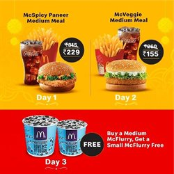 Restaurants offers in the McDonald's catalogue ( 15 days left )
