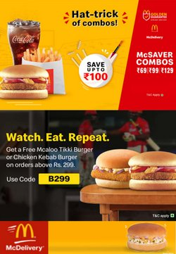 Restaurants offers in the McDonald's catalogue ( 8 days left)