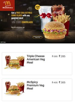 Restaurants offers in the McDonald's catalogue ( 5 days left)