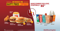 Offers from McDonald's in the Loni leaflet